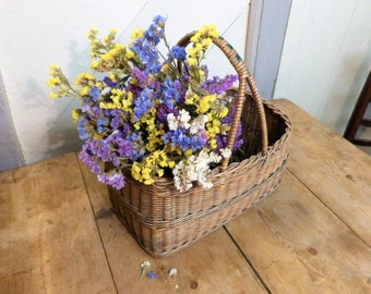Old Willow Basket from the 1940s  (Stock#6376)