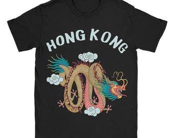 Hong Kong Dragon Souvenir Shirt *Jumbo Print*