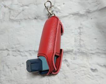 Inhaler case, holder, keychain