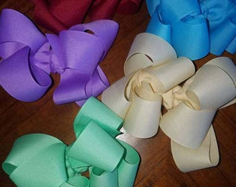 Double Stacked Hairbows