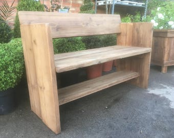 Garden Bench - made with reclaimed timber