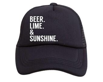 Beer Lime & Sunshine Trucker