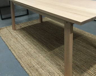 Tasmanian Oak Dining Table with Splayed legs