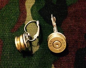 Norma 243 bullet earring handmade jewellery