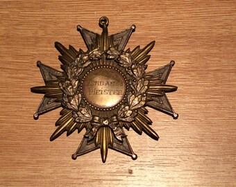 German Association Master Medal 1936