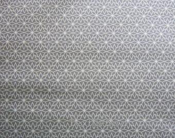 Nordic Star Gray cotton canvas - long quarter
