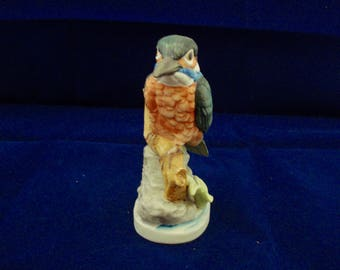 Kingfisher figurine