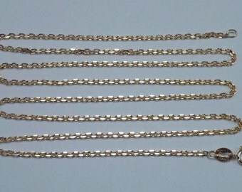 4.80 Gram 14K Yellow Gold 24 inch, 1.2 mm wide Anchor Link Chain