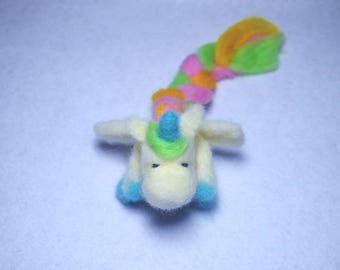 winged Unicorn multicolored