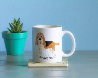 Basset Hound Mug (girl)