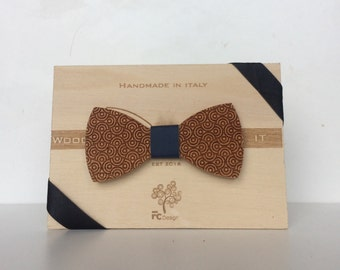 Wood-IT Papillon in legno inciso a laser MOD: Meduse
