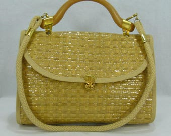 MB STRAW bag,made in  Italy NEW