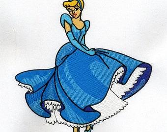 Musical & Fantasy Princess Cinderella Embroidery Design