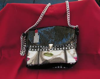 """Red lipstick"" handbag"