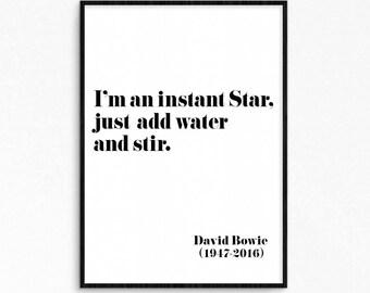 Printable posters diy par byoliart sur etsy for Art minimaliste citation