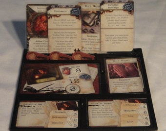 Mansions of Madness 1st Edition Game Gear: Character Dashboards Set of 2