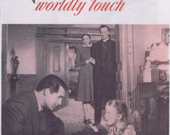 The Bishop's Wife 1947 Original Movie Ad with Cary Grant, David Niven and Loretta Young