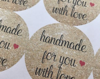 Handmade Stickers, Homemade Stickers, Wedding Stickers, Custom Stickers, Wedding Thank you stickers, Thank you stickers, Wedding Favors,