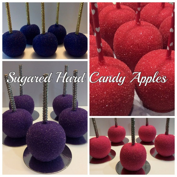 how to make glam candy apples