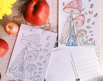"PostCards ""Autumn"""
