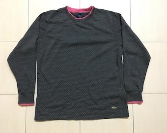 Vintage 90's Dunlop Sport Classic Design Skate Sweat Shirt Sweater Varsity Jacket Size LL #A552