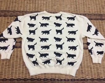 Vintage 90's United State of Paradise Park Sport Classic Design Skate Sweat Shirt Sweater Varsity Jacket Size L #A609