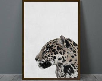 Leopard Print Wall Decor jaguar wall decor   etsy