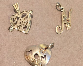 14kt gold charms