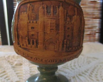 Earthenware Goblet Historical Hampton Court Palace Design, Earthern Ware Goblet
