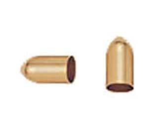 11x6mm Gold Filled Bullet End Cap Beads