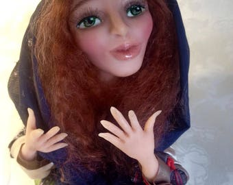 Doll bust Psychic.18см
