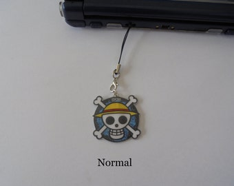 One Piece - DS Charm - Silver Necklace - Tattoo Necklace, Brooch, mobile Strap, Keychains, Choker - lanyard - One Piece Charm