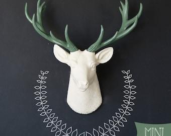 Faux Taxidermy, Small Deer head, deer taxidermy, stag head, deer wall mount, faux deer, deer, deer head, small deer, nursery decor, stag