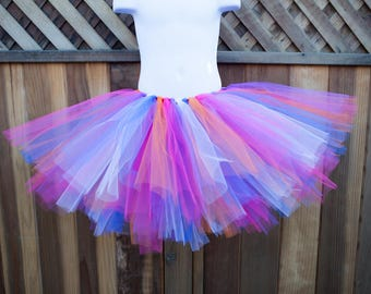 Rainbow Tutu/Trolls Tutu - Other Colors Available