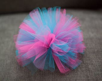 Tulle Poofs/Hair Clips - Other Colors Available
