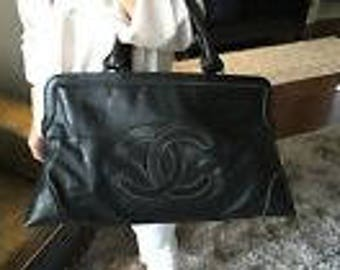 Chanel Large Oversized CC Tote Handbag