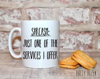 Sarcasm, Sarcastic quote mug