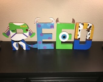Pixar name letters