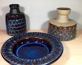 Vintage Danish pottery - Soholm Stentoj - MINT CONDITION