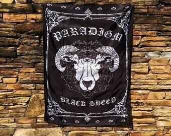 BLACK SHEEP Tapestry
