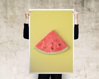Watermelon Large Print Poster