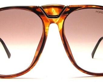 Made In Austria Vintage Porsche Design By Carrera Model 5659 Colour Code 11 Brown Designer Sunglasses Eyeglasses Frame