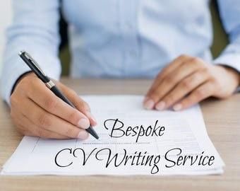 premium bespoke cv resume writing service wow recruiters secure new job professional cv