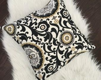 Elegant home decor 16x16 pillow cover