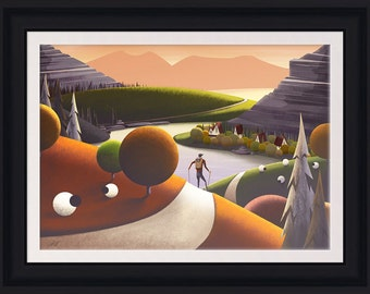 Lake View (Limited Edition Framed Print)