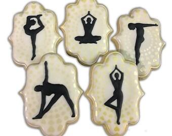 Zen Yoga Cookies  - 1 Dozen
