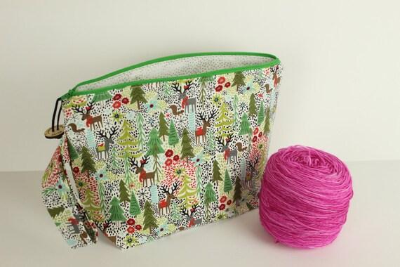 SALE! Juniper Berry Medium project bag