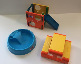 Vintage Little Tikes Dollhouse Outdoor Toys 1989