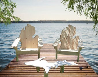 FREE SHIPPING! Michigan Upper Peninsula Table-