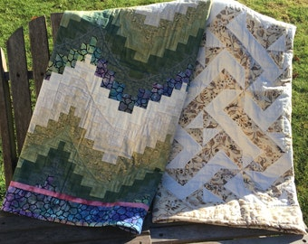 Handmade Quilted Wall Hangings/Lap Quilts
